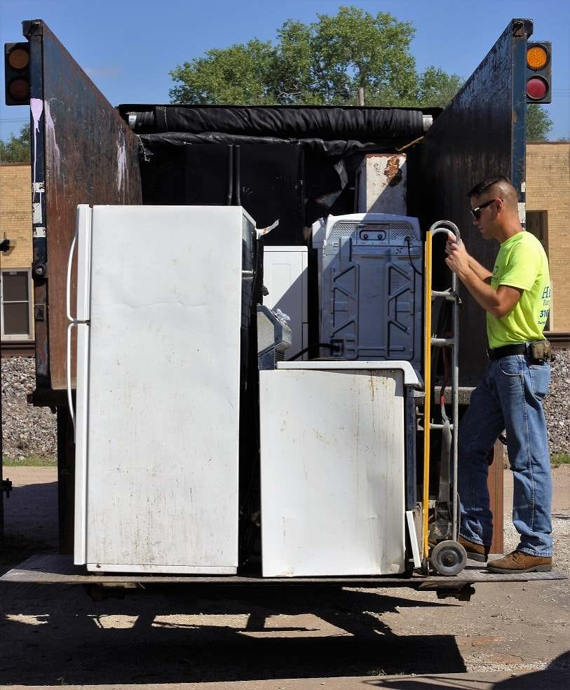 Appliance Removal and Recycling in Wichita Kansas